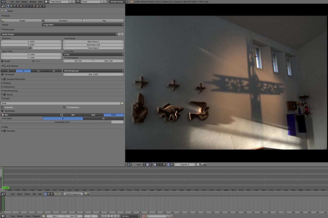 Sezione destinata alla visualizzazione dei video