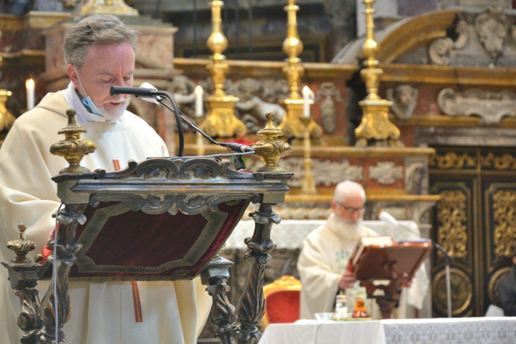S. Messa di insediamento di p.Agostino come nuovo padre generale